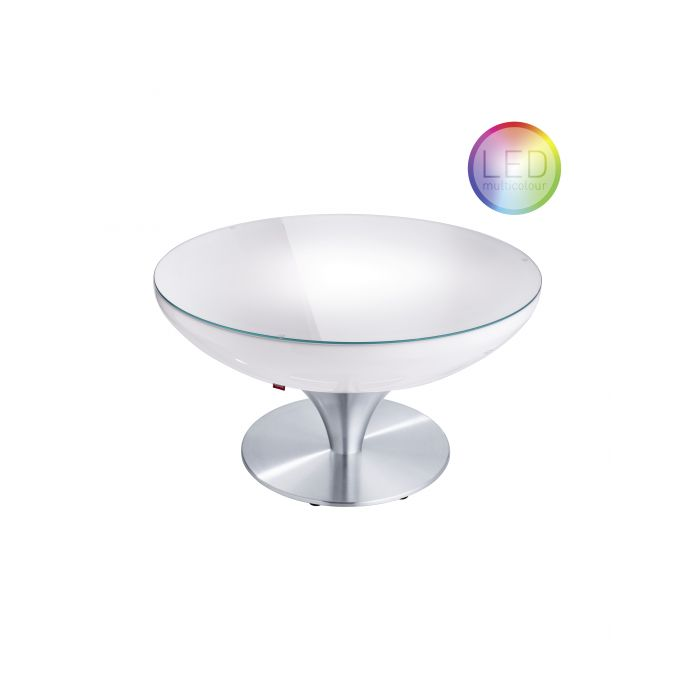 Table basse Lounge Indoor LED RGB PRO + Batterie MOREE