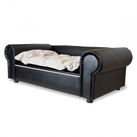 Niche pour chien Columbus Chesterfield XL Black
