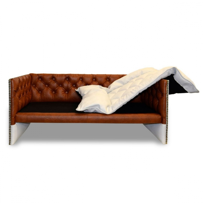 Niche pour chien Lord Deluxe Chesterfield