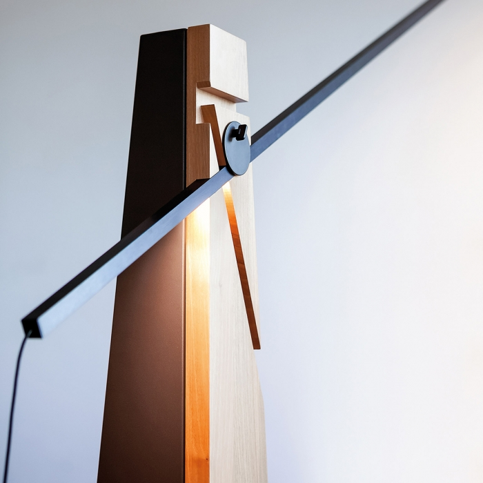 Lampadaire contemporain design Astofo