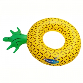 Bouée piscine ananas gonflable