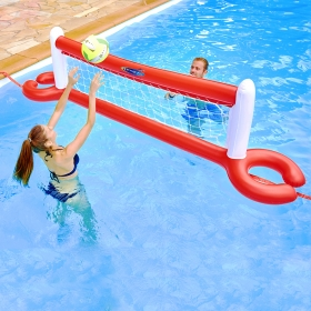 Filet de volley gonflable pour piscine