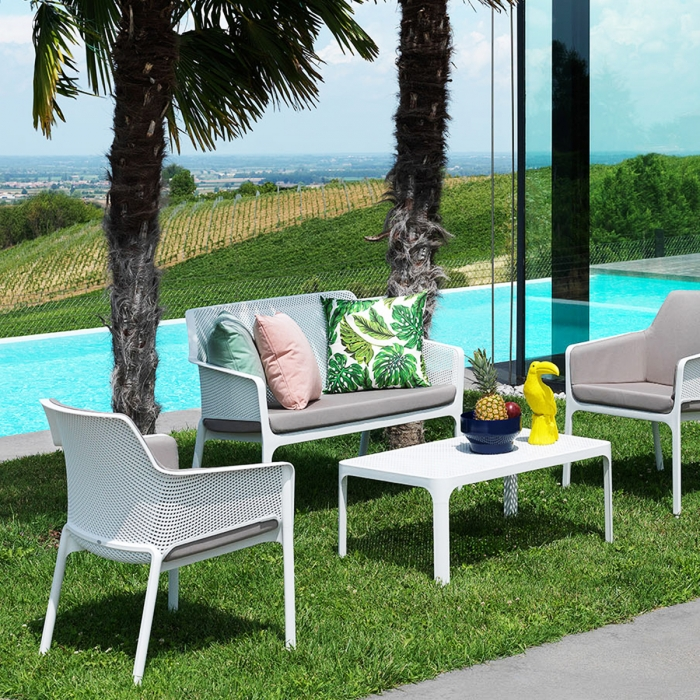 canap de jardin net bench nardi zendart design. Black Bedroom Furniture Sets. Home Design Ideas