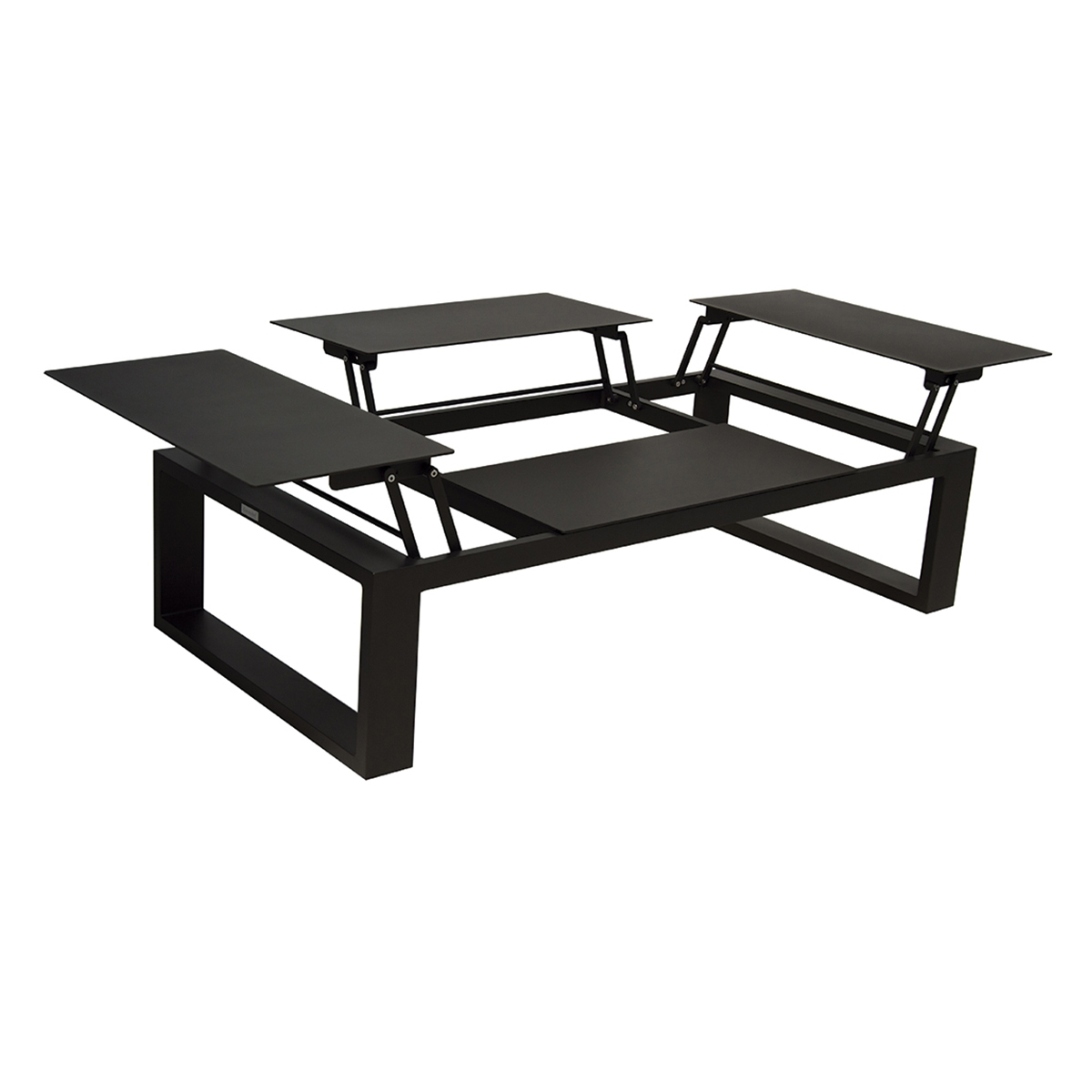 Table basse avec plateau relevable zendart outdoor - Table basse relevable avec rallonge ...