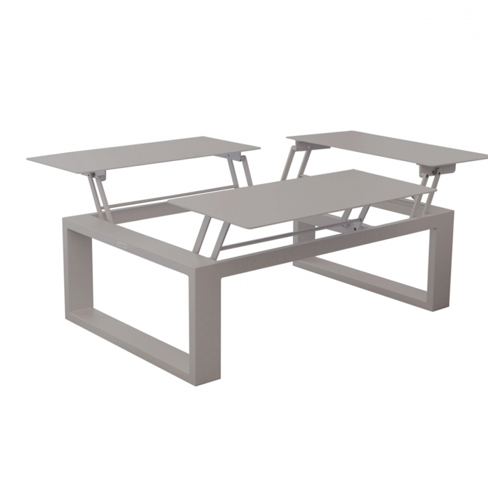 Table basse avec plateau relevable Zendart Outdoor - Zendart Design