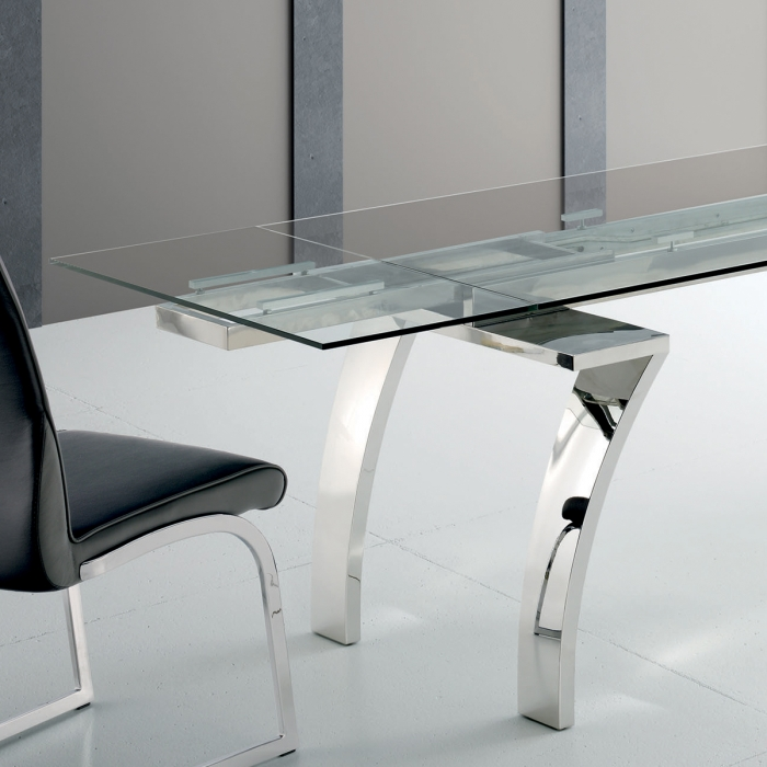 Table extensible avec rallonges int gr es zendart design - Table extensible rallonges integrees ...