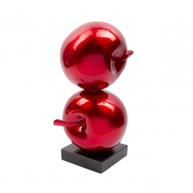 Sculpture de fruit design Pomme d'amour