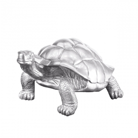 Sculpture design en résine multicolore H.55 x L.105 cm Tortue par Zendart Design