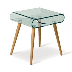 Table basse en verre 50x40x51h Nina Zendart Design Selection