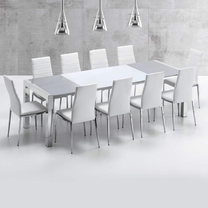 Table de repas extensible Balta 90 x 210-250 par ZENDART DESIGN