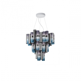 Suspension La Lollo M SLAMP :Que dire de cette suspension La Lollo : Gracieuse, élégante, design et contemporaine à la fo...