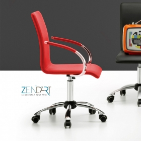 Chaise de bureau Sille Colors par ZENDART DESIGN