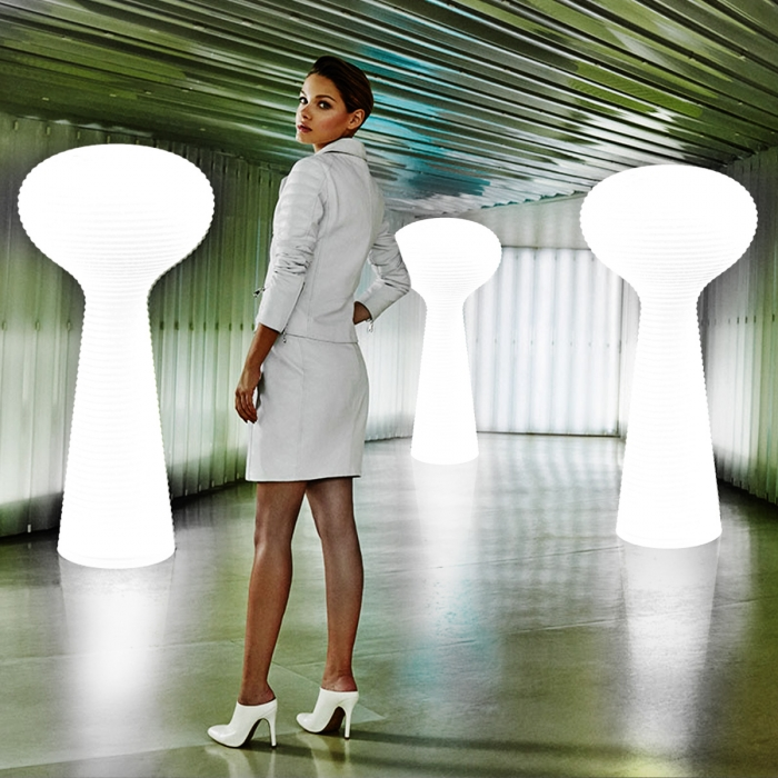 Lampe Bloom à Led blanc 190 cm Vondom