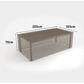 Housse de protection pour table rectangulaire 205x105xh70 NORTENE