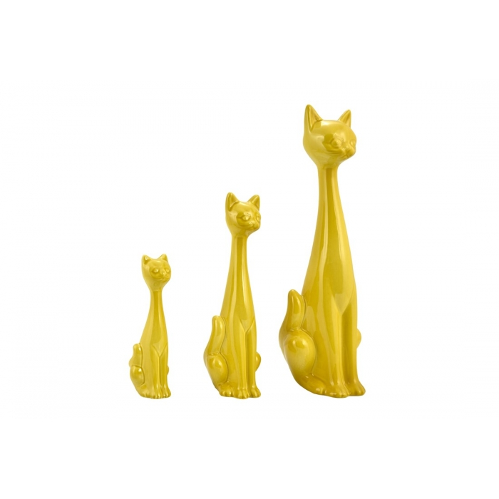 Set des 3 petits chats  by ZENDART SELECTION