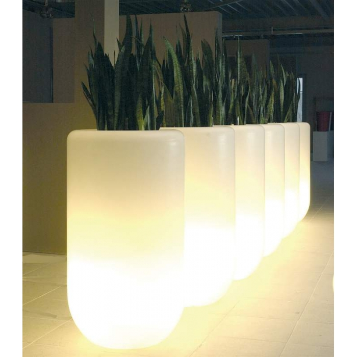 Pot lumineux BLOOM Pill 70 cm