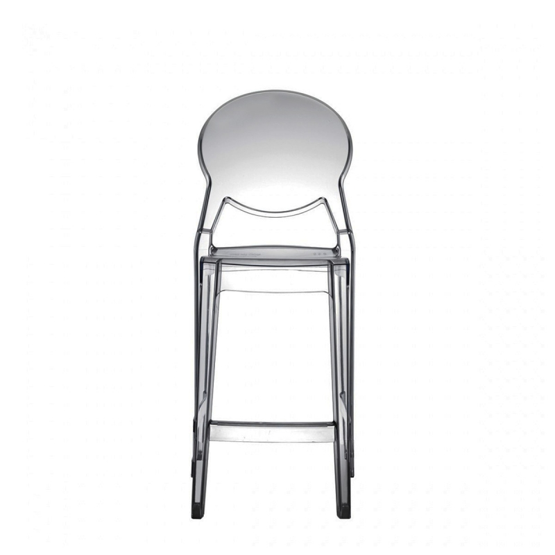 Tabouret haut transparent Igloo mini 65cm par Scab Design