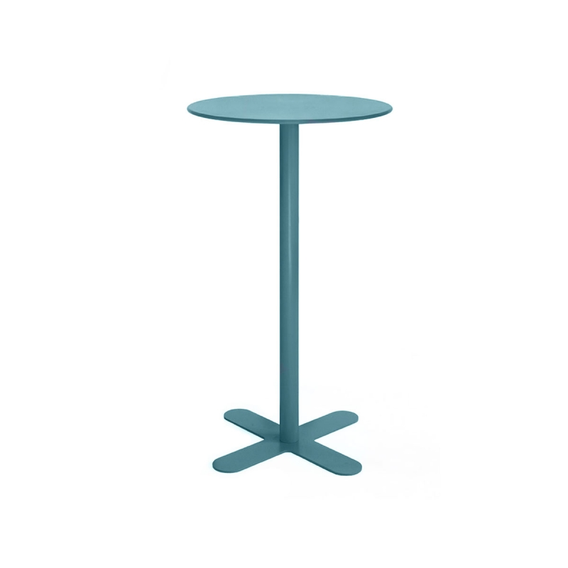 Table haute 113 cm de jardin Antibe par ISIMAR