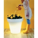 Pot BLOOM 100 cm lumineux