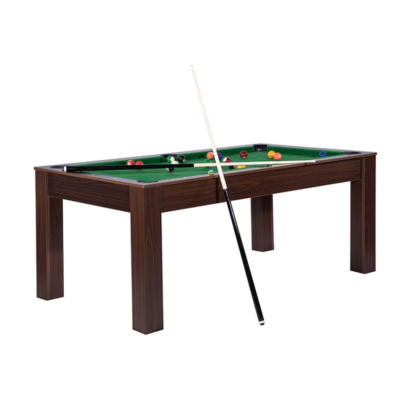 Table billard convertible 6 personnes Seattle par Zendart Sélection