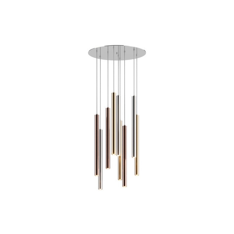 Suspension LED  Design LOYA à 9 lampes par Zumaline