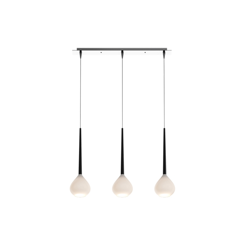 LIBRA Suspension Design à 3 lampes par Zumaline