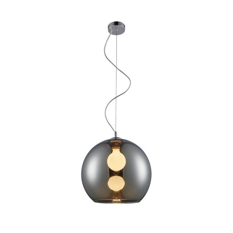 Suspension boule lumineuse Vero design par Zumaline