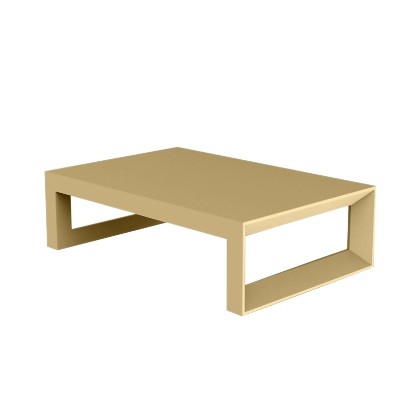 Table basse de jardin FRAME design Vondom mate