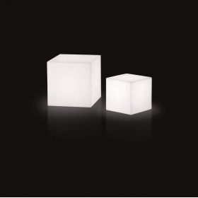 Table basse lumineuse SLIDE Cubo 50 cm
