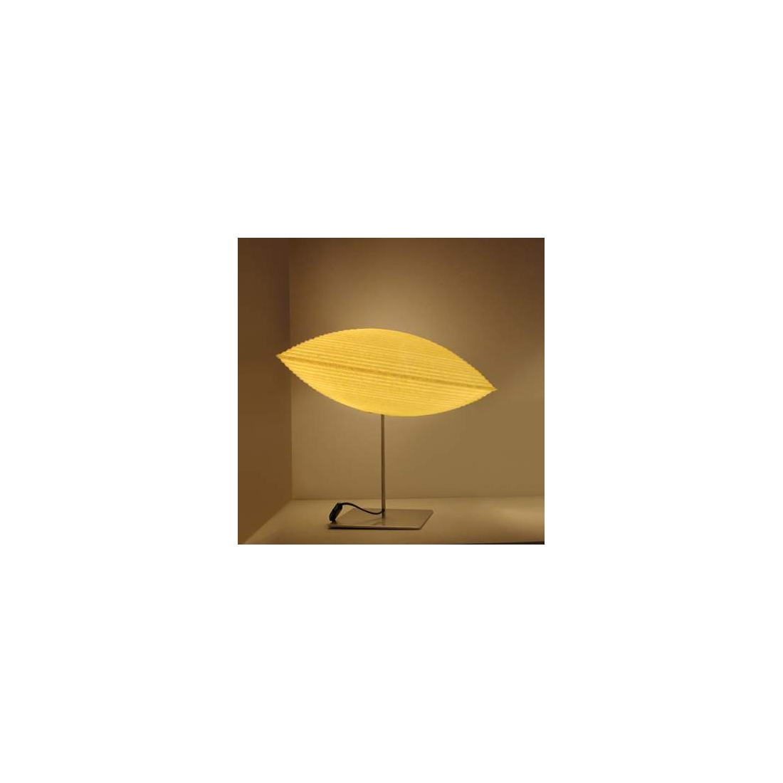 Lampe de table slide morea 18 cm lampes poser design for Lampe de table rona