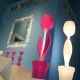Lampe MYYOUR Tulip taille XL, lumineux