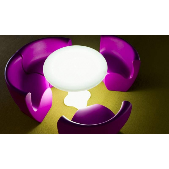 Table ronde lumineuse Ø79cm Teddy - MYYOUR