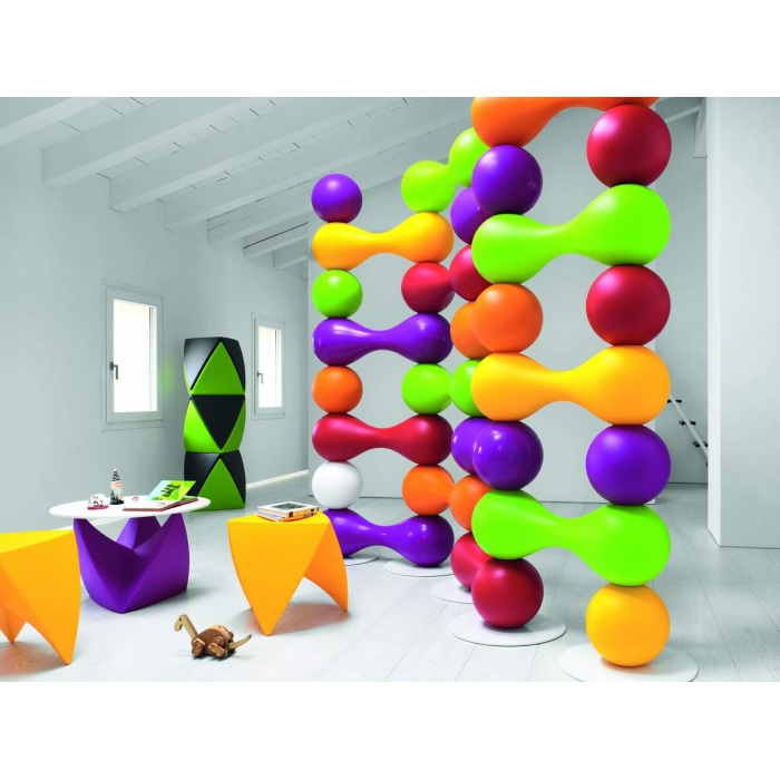 Tabouret design MYYOUR Mr.Lem, émaillé brillant