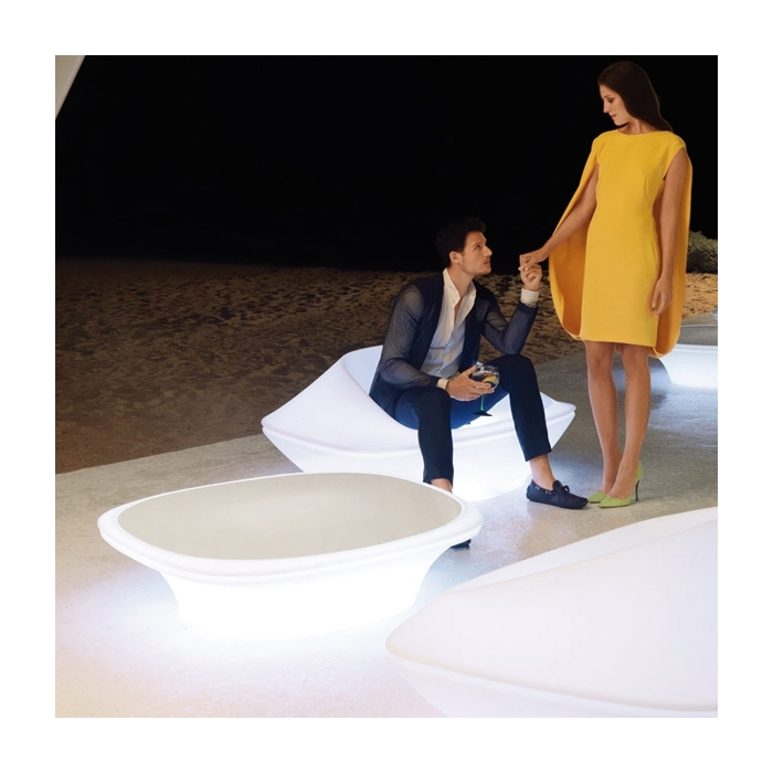 Table basse VONDOM Ufo, LED RGB