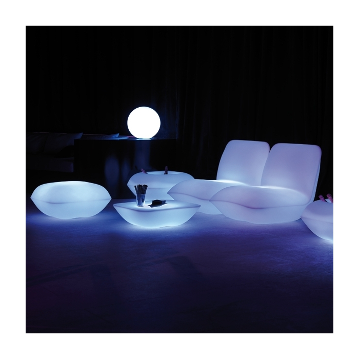 pouf lumineux ext rieur led rgb pillow vondom zendart design