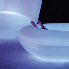 Pot design VONDOM Pillow, LED RGB