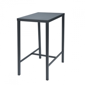 Table haute Dorio 60x80 cm design contract