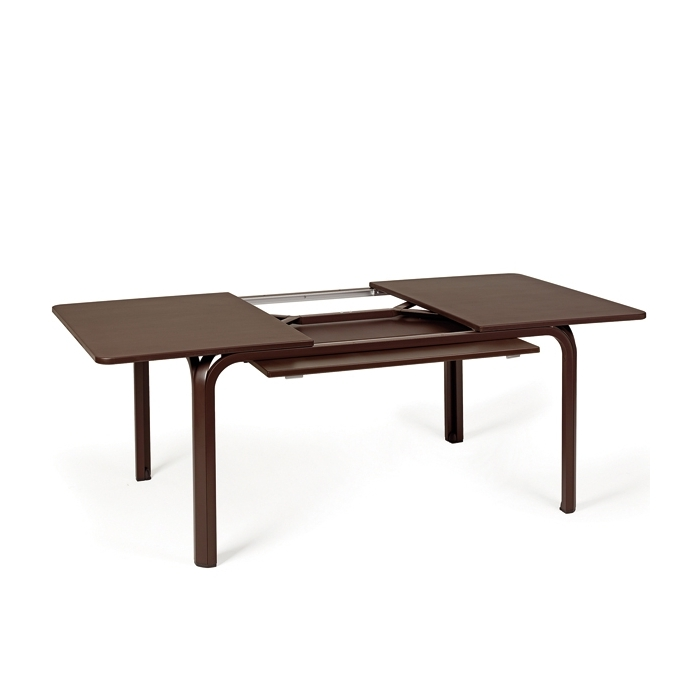Table extensible nardi lauro 140 210 cm tables manger for Table 140 cm extensible