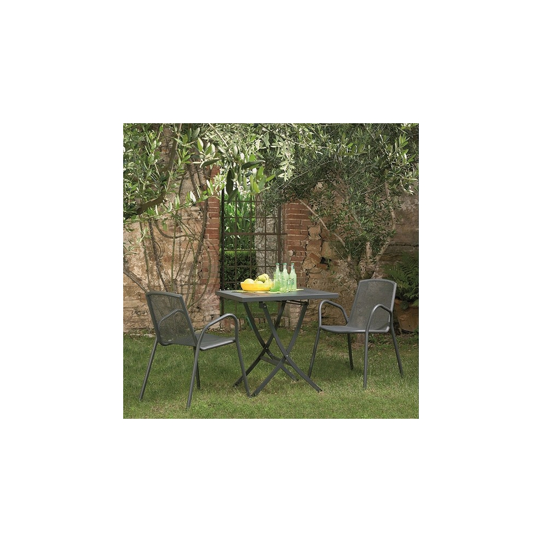 Table de jardin pliante rd italia zendart design - Table de jardin design ...