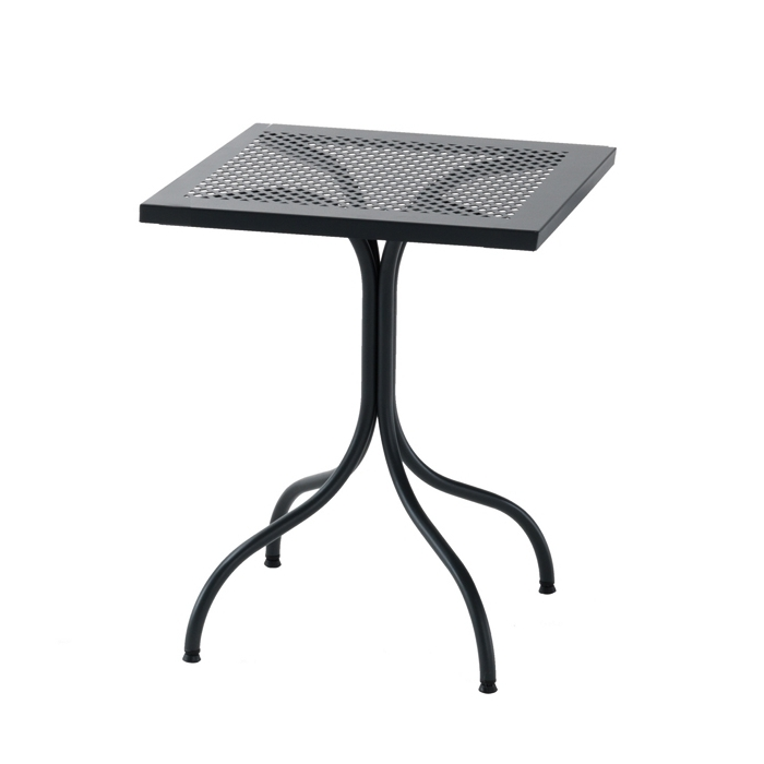 Table carr e rd italia bistrot 60x60 tables manger design rd - Table de jardin design italien ...