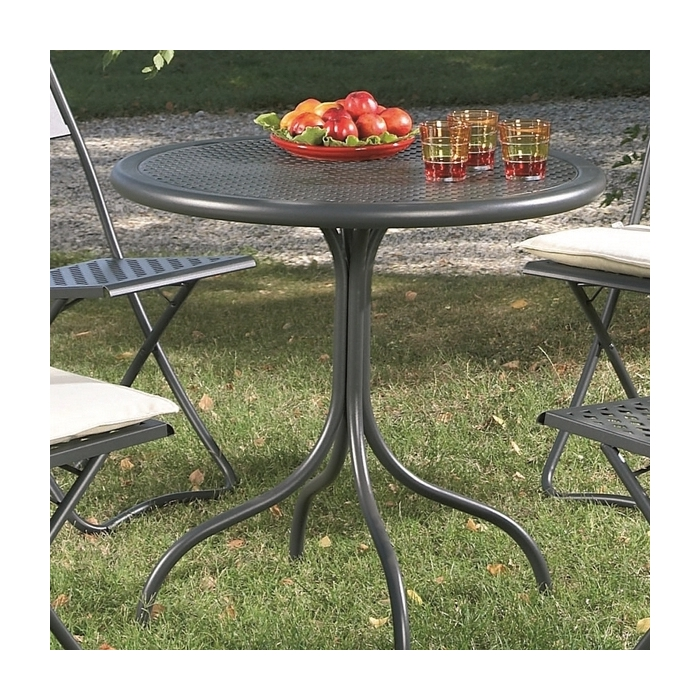 Table d montable rd italia bistrot 80r tables manger design rd - Table de jardin design italien ...