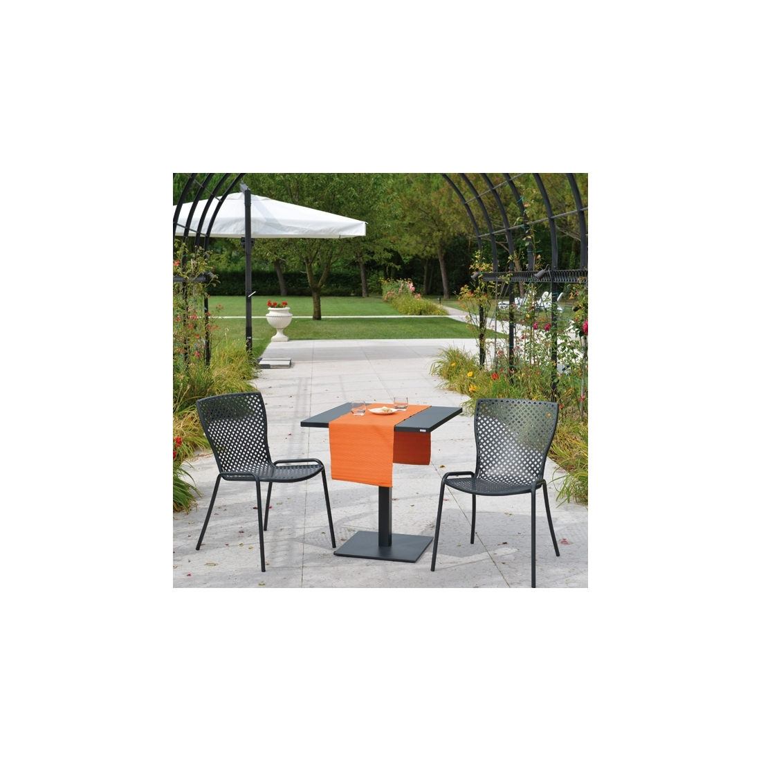 Chaise empilable rd italia sonia 1 chaises design rd - Chaise de jardin empilable ...