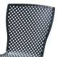 Chaise haute empilable RD ITALIA Sonia 75
