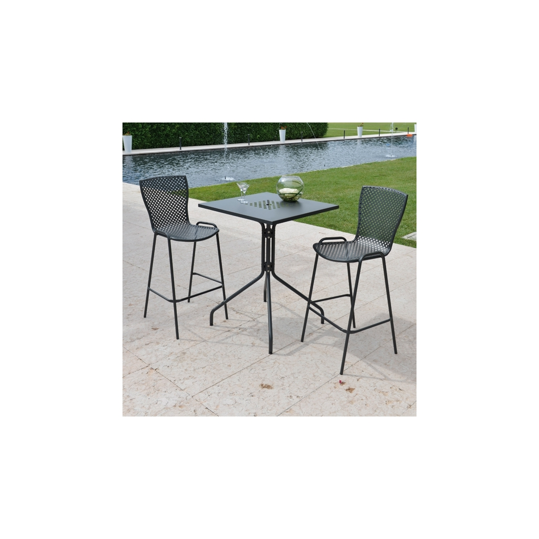 Tabouret de bar italien tabouret de bar italien blanc for Chaise empilable design