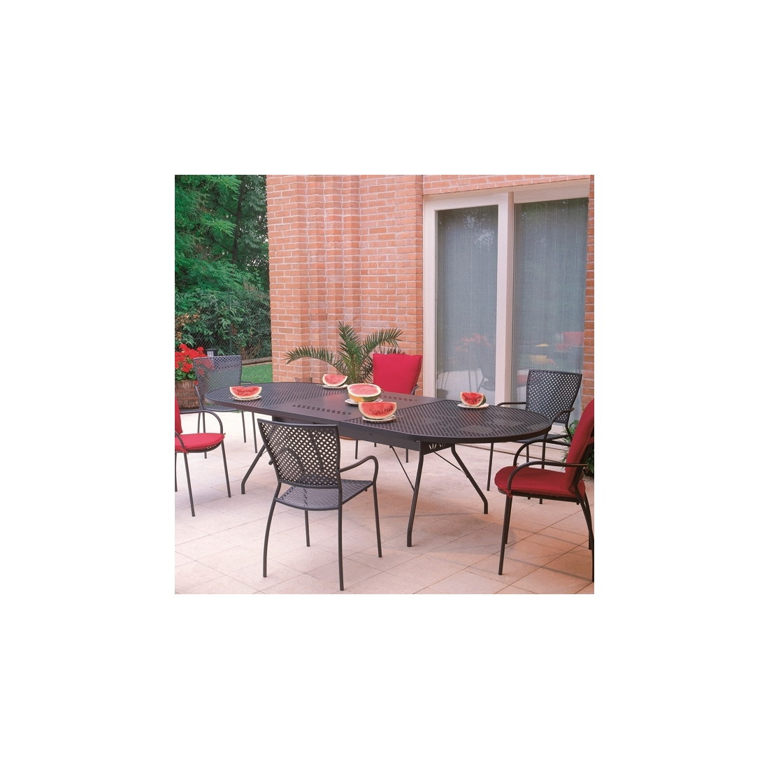 Table rallonge rd italia reef xl tables manger design rd italia - Table de jardin design italien ...