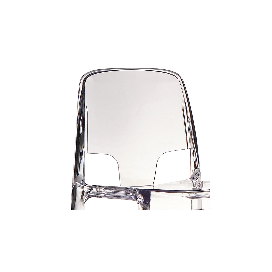 Chaise transparente design infiniti margot chaises design for Chaise transparente design