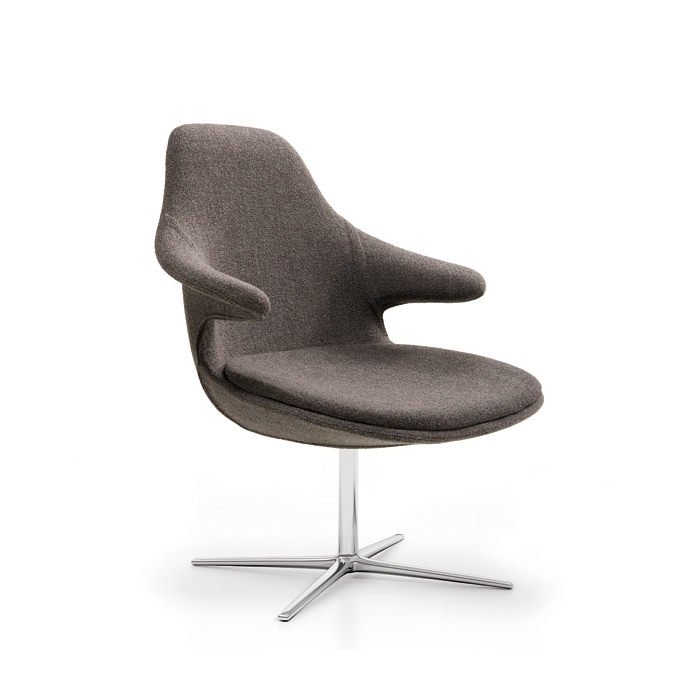 Fauteuil Pivotant Design INFINITY Loop Lounge Low Fauteuils Design - Fauteuil tournant design