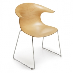 Chaise design INFINITI Loop 3D Wood (x2)