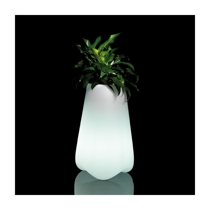 Pot design VONDOM Vlek 70 cm, LED RGB