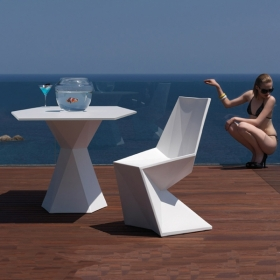 Chaise VONDOM Vertex, LED RGB
